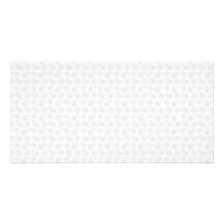 Subtle Small Paisley Bandana Texture Picture Card