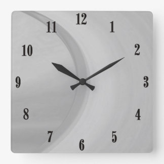Subtle Square Wall Clock