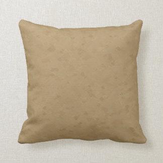 Subtle Tan Pattern Throw Pillow