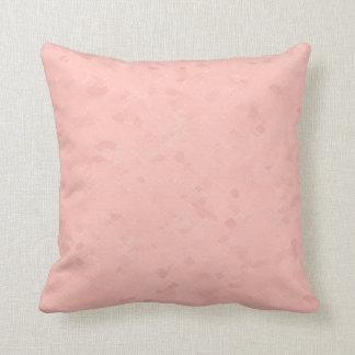 Subtle Warm Pink Pattern Throw Pillow
