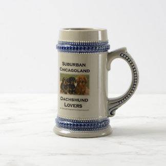 Suburban Chicagoland Dachshund Lovers Mugs