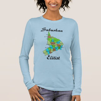 Suburban Elitist - Fairfield County Long Sleeve Long Sleeve T-Shirt