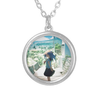 Suburban Girl Silver Plated Necklace