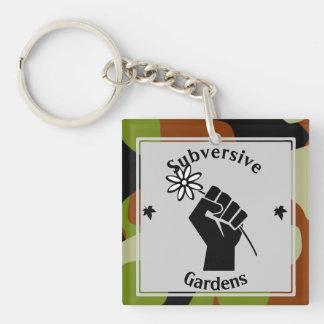 Subversive Gardens Key Ring