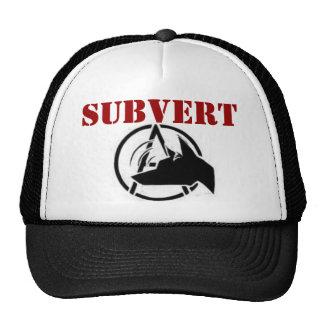 Subvert hats! cap