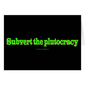 SubvertPlutocracy Cards