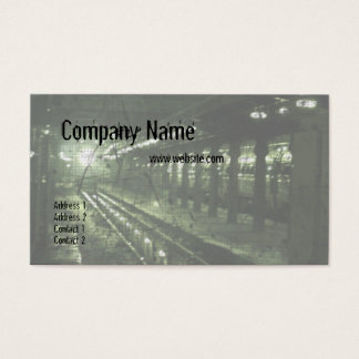 Subway Business Cards