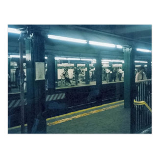 Subway Station Postcard
