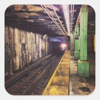 Subway Travel Sticker