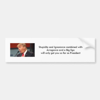 Success as a President Bumper Sticker