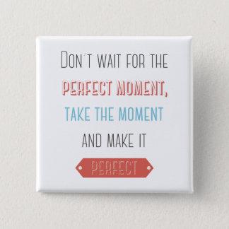 Success, Attitude, Goals Motivational Life Quote 15 Cm Square Badge