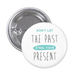 Success, Attitude, Goals  Motivational Life Quote 3 Cm Round Badge