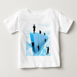 Success Concept Business People Silhouettes Baby T-Shirt