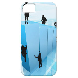 Success Concept Business People Silhouettes Barely There iPhone 5 Case