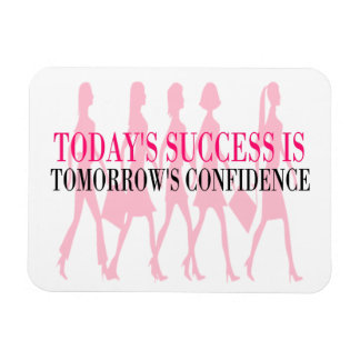 Success & Confidence: Career Girl Magnet