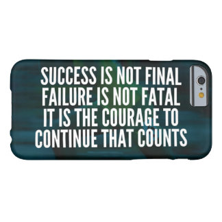 Success, Failure, Courage - Workout Motivational Barely There iPhone 6 Case