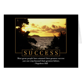 Success Greeting Cards