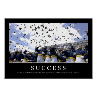 Success: Inspirational Quote Poster