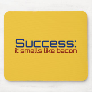 Success: It Smells Like Bacon Mousepads
