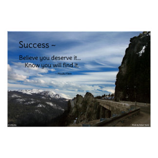 Success...Motivational poster