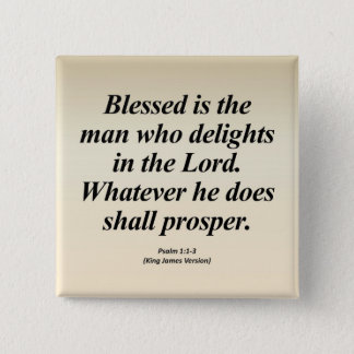 Success Psalm 1:1-3 Abbrev 15 Cm Square Badge