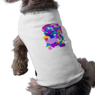 Success Purple Sleeveless Dog Shirt