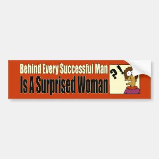 Successful Man Bumper Sticker