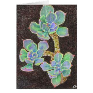 Succulent 2 card
