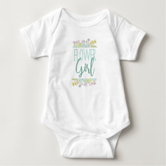 Succulent Bouquet Framed Watercolor | Flower Girl Baby Bodysuit