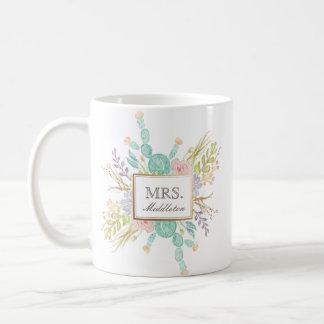 Succulent Bouquet Watercolor | Custom Mug