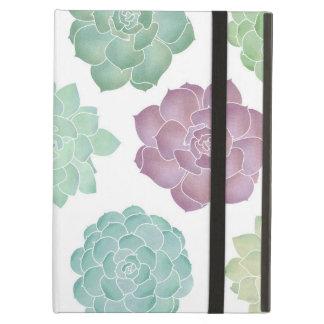 Succulent Garden Pattern iPad Air Cover