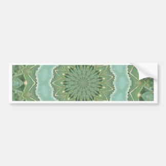 Succulent Mandala Bumper Sticker