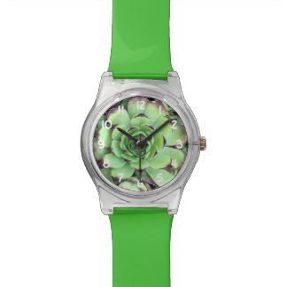 Succulent Plant Texture Pattern Watch