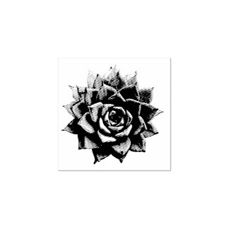 Succulent Rubber Stamp