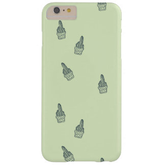 Succulents Barely There iPhone 6 Plus Case