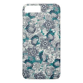 succulents blue indigo iPhone 8 plus/7 plus case
