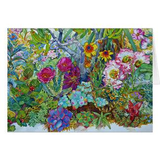 """Succulents & Cacti"" Card"