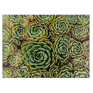 Succulents Cutting Board
