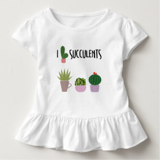Succulents Lovers Kids Collection Toddler T-Shirt