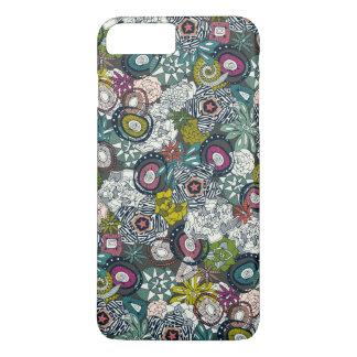 succulents multi dark iPhone 7 plus case
