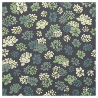 Succulents Pattern Fabric