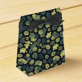 Succulents Pattern Favour Box