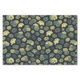 Succulents Pattern Tissue Paper