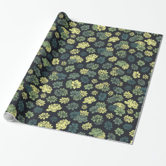 Succulents Pattern Wrapping Paper
