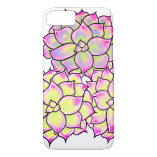 Succulents - yellow hues iPhone 8/7 case