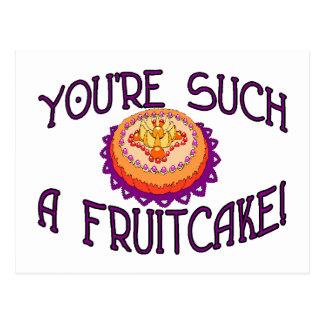 Such A Fruitcake Postcard