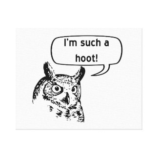 Such a Hoot Canvas Prints