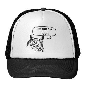 Such a Hoot Mesh Hats