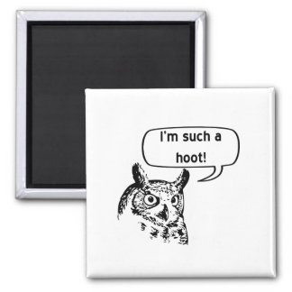Such a Hoot Refrigerator Magnets