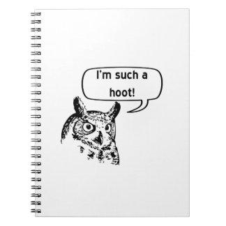 Such a Hoot Journals